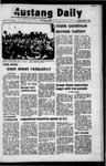 Mustang Daily, May 11, 1972