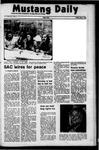 Mustang Daily, May 12, 1972
