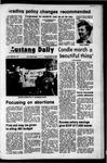 Mustang Daily, May 15, 1972