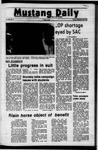 Mustang Daily, September 29, 1972