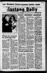 Mustang Daily, October 2, 1972