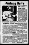 Mustang Daily, October 3, 1972