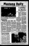 Mustang Daily, October 5, 1972
