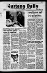 Mustang Daily, October 9, 1972
