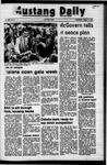 Mustang Daily, October 11, 1972