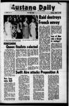 Mustang Daily, October 12, 1972