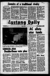 Mustang Daily, October 13, 1972