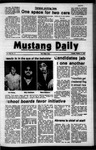 Mustang Daily, October 17, 1972