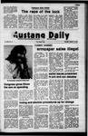 Mustang Daily, October 19, 1972
