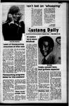 Mustang Daily, October 20, 1972