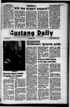Mustang Daily, October 26, 1972