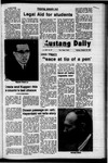 Mustang Daily, October 30, 1972