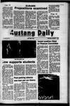 Mustang Daily, November 1, 1972