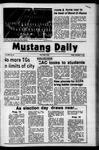 Mustang Daily, November 3, 1972