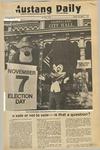 Mustang Daily, November 7, 1972