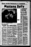 Mustang Daily, November 8, 1972