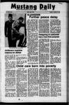 Mustang Daily, November 14, 1972