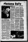 Mustang Daily, November 28, 1972