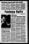 Mustang Daily, November 30, 1972
