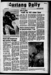 Mustang Daily, January 10, 1973