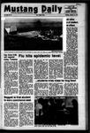 Mustang Daily, January 15, 1973