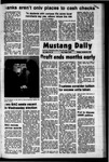 Mustang Daily, January 29, 1973