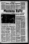 Mustang Daily, February 9, 1973