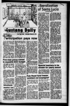 Mustang Daily, February 21, 1973