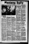 Mustang Daily, February 28, 1973