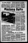 Mustang Daily, March 6, 1973