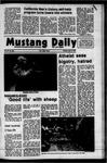 Mustang Daily, April 9, 1973