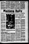 Mustang Daily, April 13, 1973