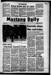 Mustang Daily, April 16, 1973