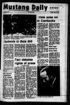 Mustang Daily, April 17, 1973