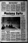 Mustang Daily, May 14, 1973