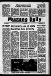 Mustang Daily, May 21, 1973