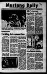 Mustang Daily, October 5, 1973