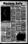 Mustang Daily, October 12, 1973