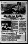 Mustang Daily, October 18, 1973