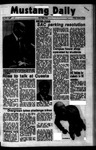Mustang Daily, October 19, 1973