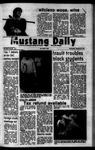 Mustang Daily, October 24, 1973