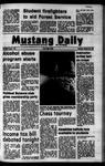 Mustang Daily, October 25, 1973