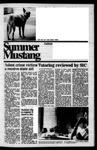 Summer Mustang, August 15, 1974