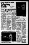 Mustang Daily, November 22, 1974