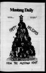 Mustang Daily, December 6, 1974