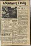 Mustang Daily, January 16, 1975