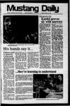 Mustang Daily, January 24, 1975