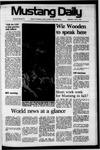 Mustang Daily, April 9, 1975
