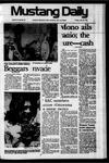 Mustang Daily, May 30, 1975