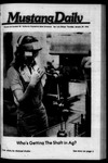 Mustang Daily, January 29, 1976